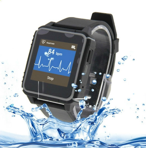 IP68 Waterproof Smart Watch with Heart Rate Monitor, Pedometer, Sleep Tracker